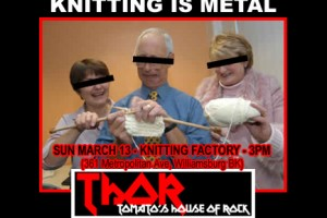 PAST SHOW – THOR Knitting is Metal Show