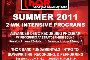 SUMMER 2011 THOR PROGRAMS ANNOUNCED – SIGN UP!!!