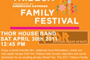 PAST SHOW: THOR House Band to play Tribeca Film Festival
