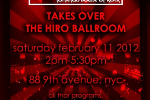 PAST SHOW: THOR TAKES OVER THE HIRO BALLROOM