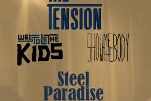 PAST SHOW: THE TENSION HEADLINE WEBSTER HALL STUDIO 4/29
