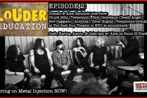 "THOR ""LOUDER EDUCATION"" METAL WEB SERIES EPISODE #2 PREMIERES TODAY w/ special guests from Testament, Anthrax, Death Angel and Dethklok"