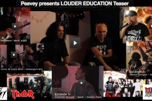 THOR/LOUDER EDUCATION WEB SERIES TO PREMIER TUES 9/18, PRESENTED BY PEAVEY