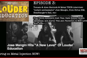"THOR ""LOUDER EDUCATION"" METAL WEB SERIES EPISODE #3 AIRING NOW w/ special guest Jose Mangin from Sirius XM, Headbanger's Ball, etc!"