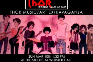 past show: THOR MUSIC/ART EXTRAVAGANZA AT WEBSTER HALL