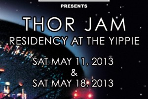 past show: THOR JAM RESIDENCY AT THE YIPPIE