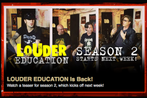 THOR LOUDER EDUCATION WEB SERIES, SEASON 2, PREMIERS 10/15/13 – WATCH THE TRAILER HERE!