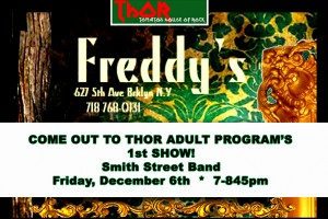past show: THOR ADULT PROGRAM'S 1st GIG – THE SMITH ST BAND!