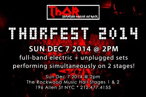 past show: THORFEST 2014 – 12.7.14 – TWO STAGES OF MUSIC!