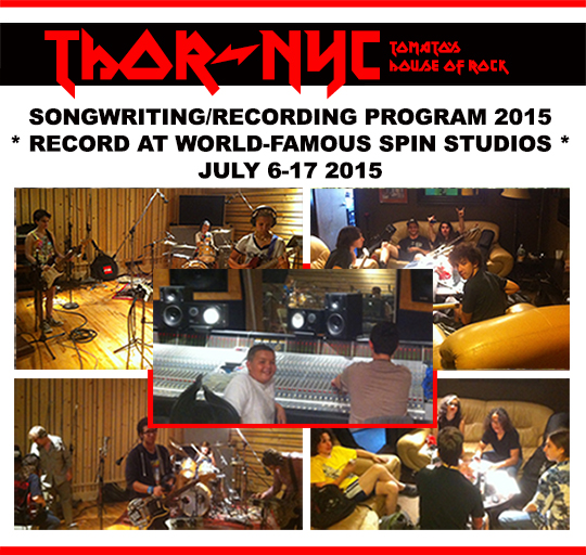thor summer 2015 songwriting