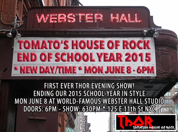 thor webster hall 2015